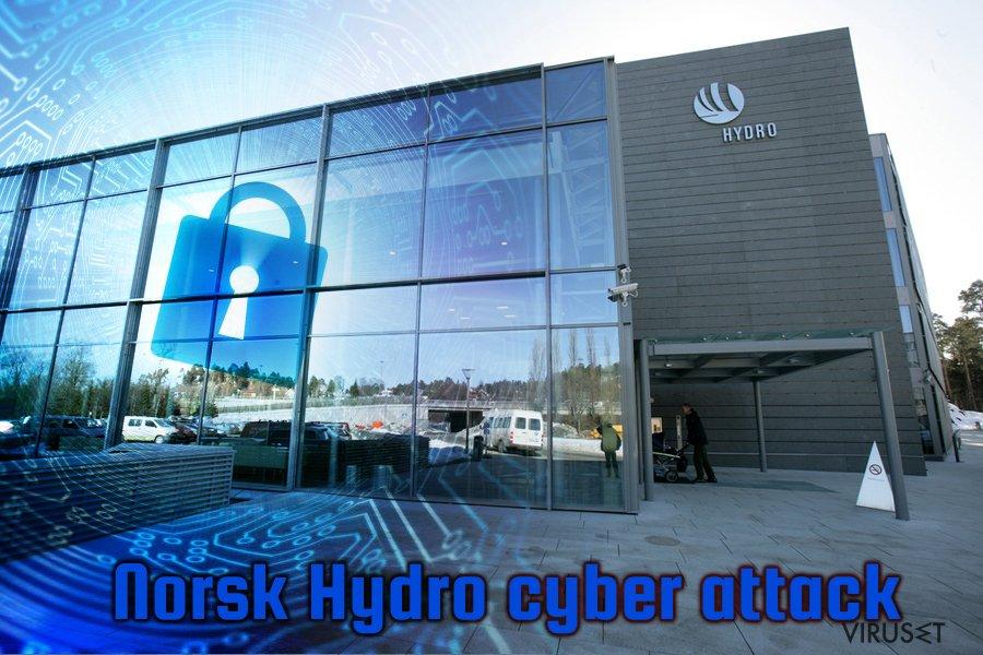 LockerGoga angrep på Norsk Hydro