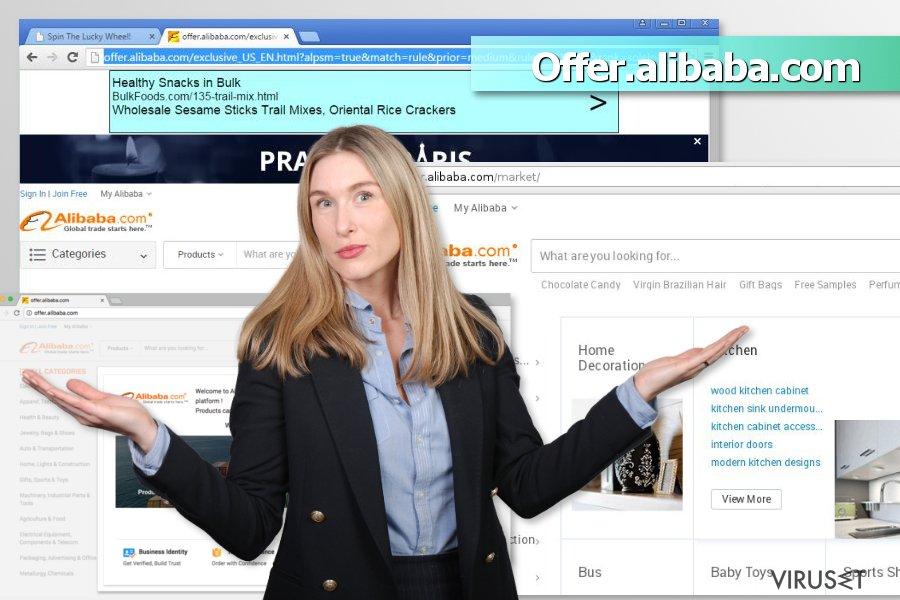 Offer.alibaba.com-annonser skjermbilde
