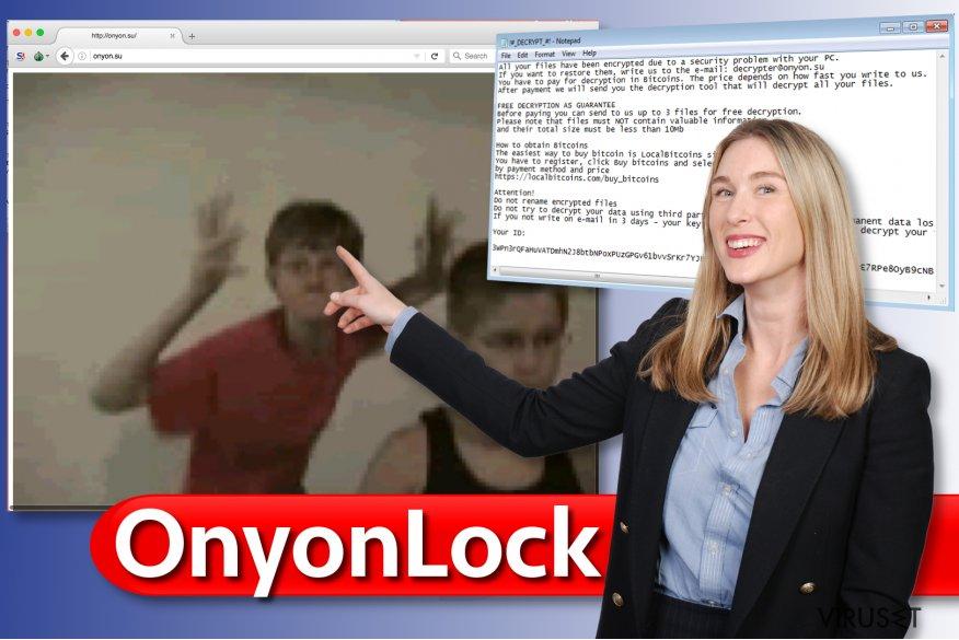 OnyonLock ransomware virus