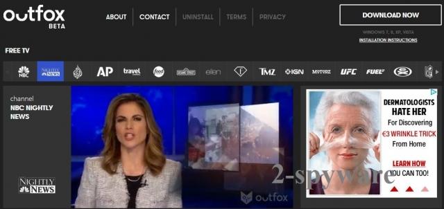 Outfox TV skjermbilde