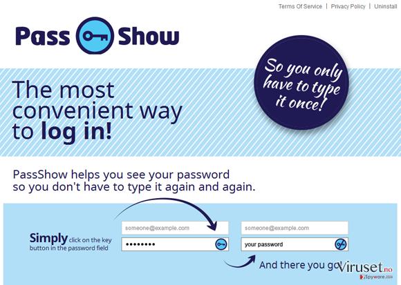 PassShow ads skjermbilde