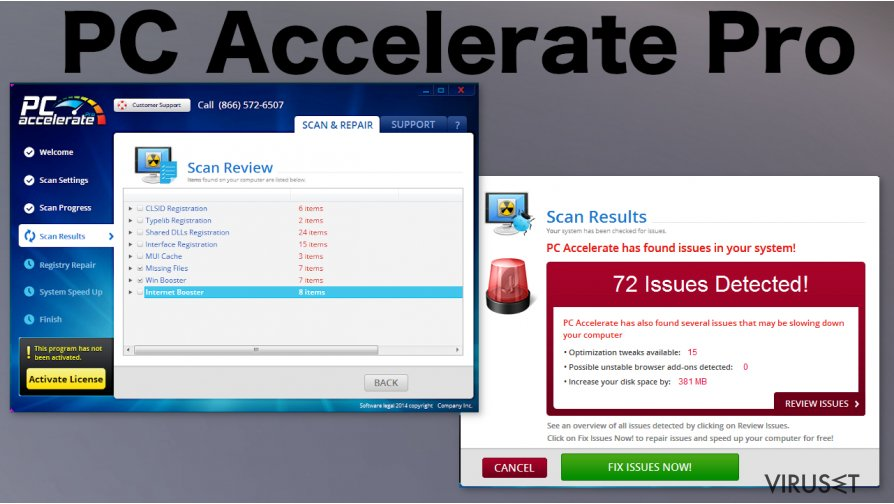 PC Accelerate Pro skjermbilde