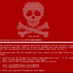 Petya-virus skjermbilde