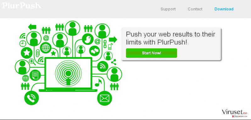 PlurPush skjermbilde