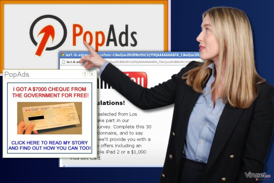 PopAds annonser