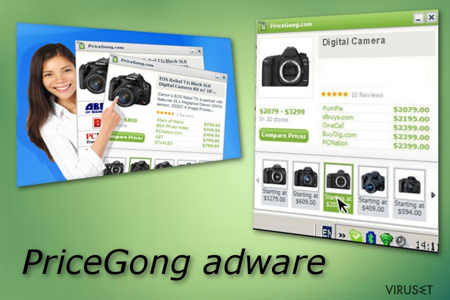 PriceGong skjermbilde