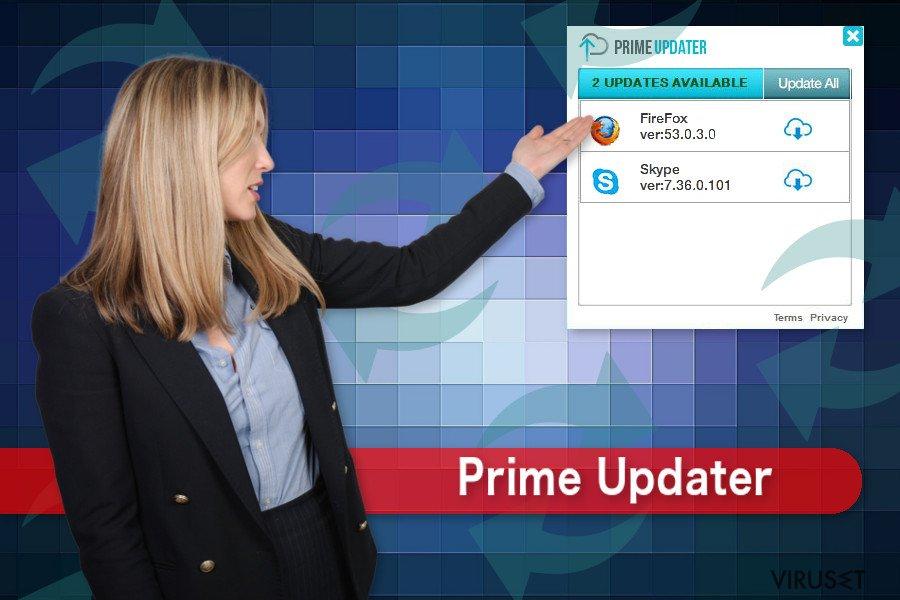 Tegning av Prime Updater