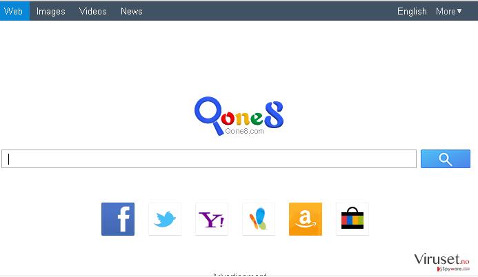 Qone8.com skjermbilde