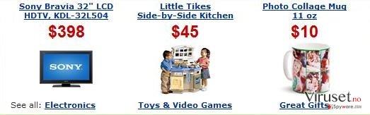 Annonser fra ArcadeParlor skjermbilde