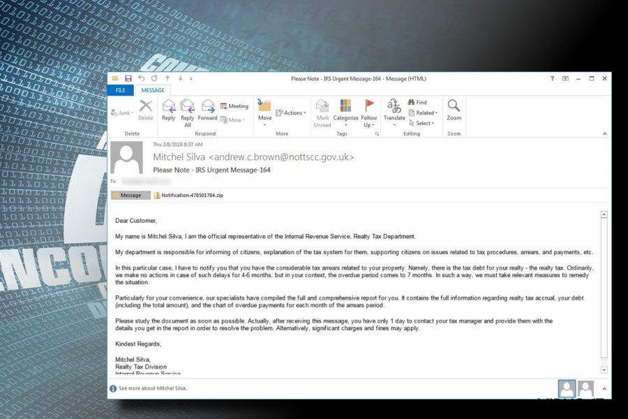 Rapid ransomware spres via søppelpost