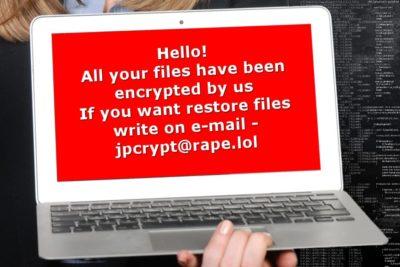 Rapid ransomware kryptovirus