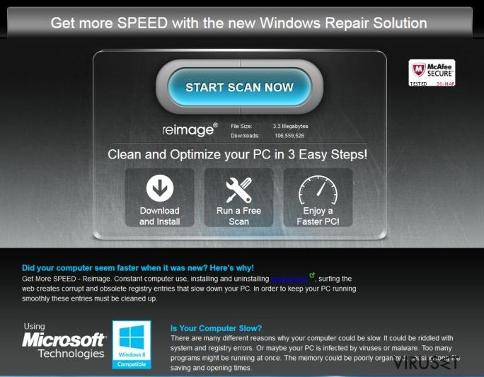 ReimagePlus.com-annonser skjermbilde