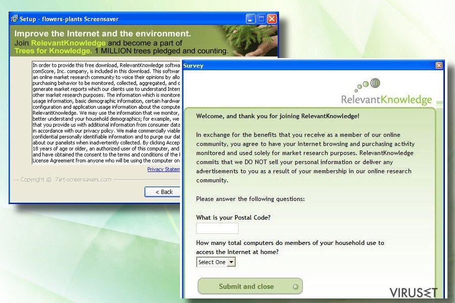 Relevant Knowledge skjermbilde