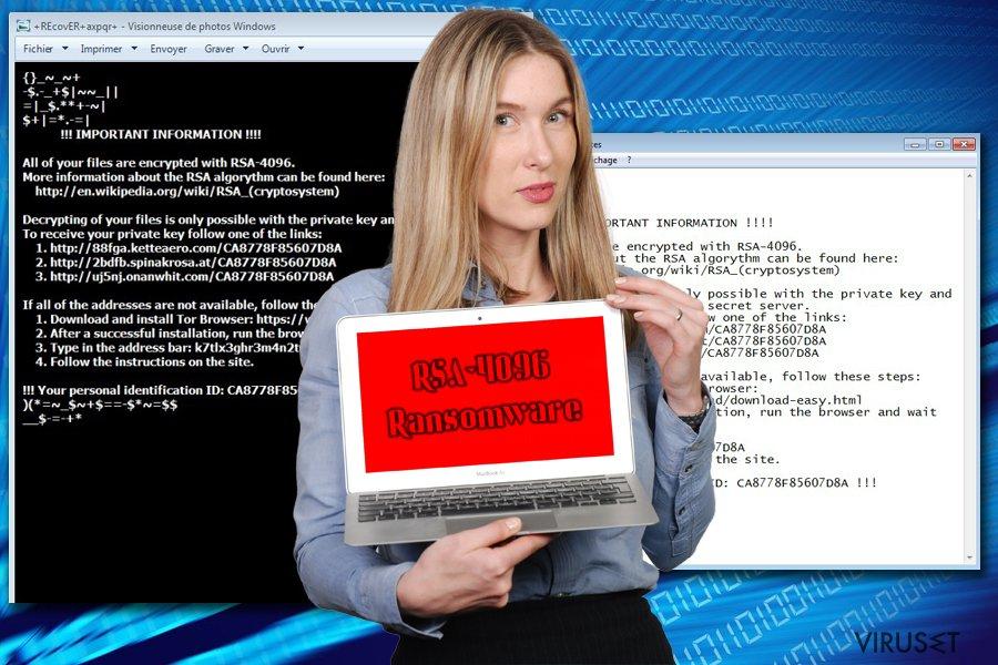 RSA-4096 ransomware skjermbilde