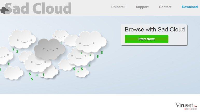 Sad Cloud-annonser skjermbilde