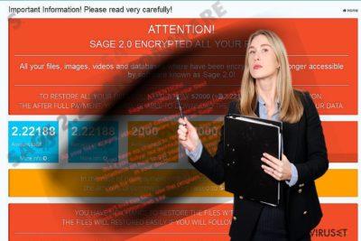 Bilde av Sage 2.2-viruset