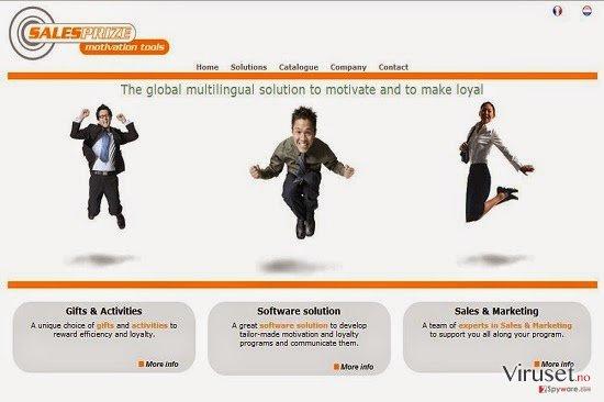 Annonser fra SalesPrize skjermbilde