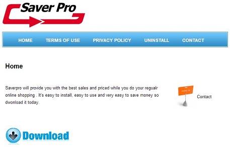 SaverPro-virus skjermbilde