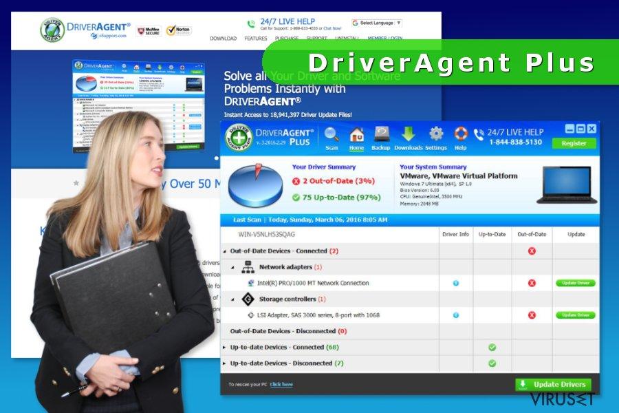 skjermbilde av DriverAgent Plus