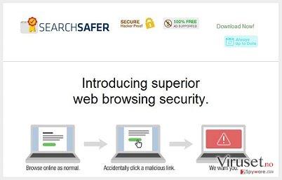 Search Safer virus skjermbilde