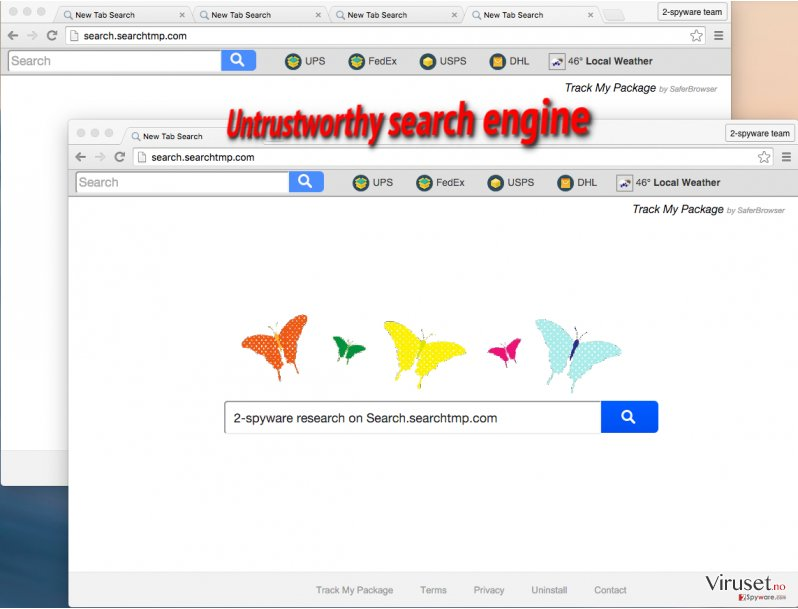 Search.searchtmp.com browser hijacker