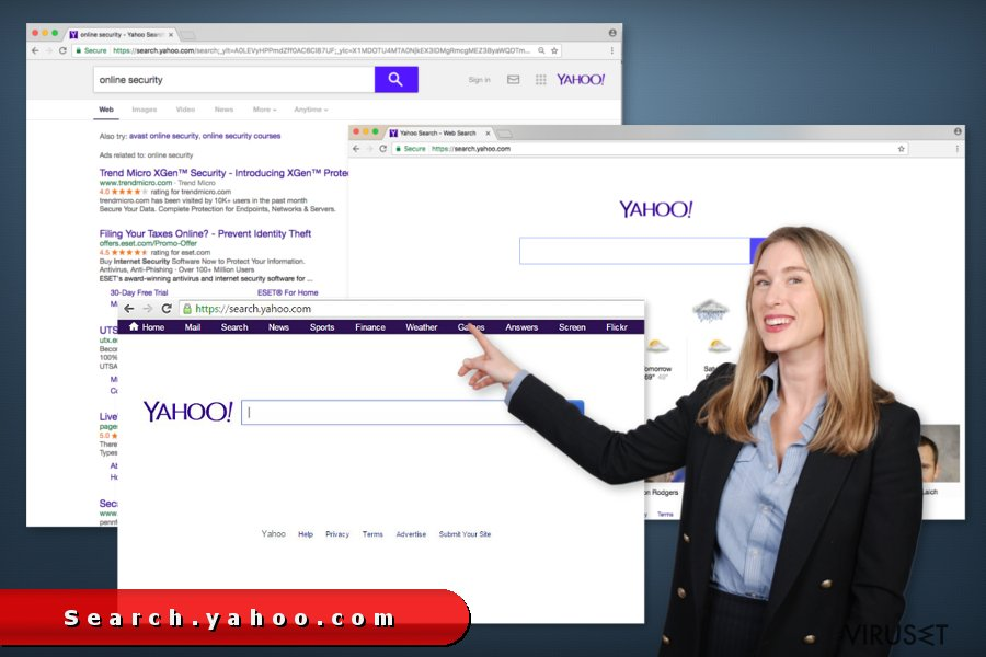 search.yahoo.com omdirigeringer