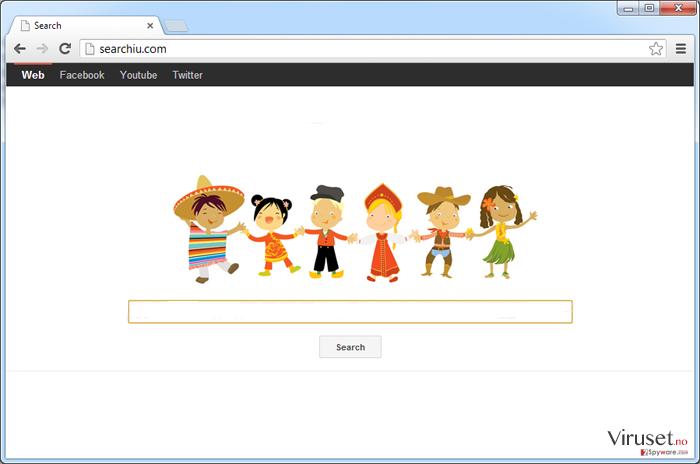 Searchiu.com virus skjermbilde