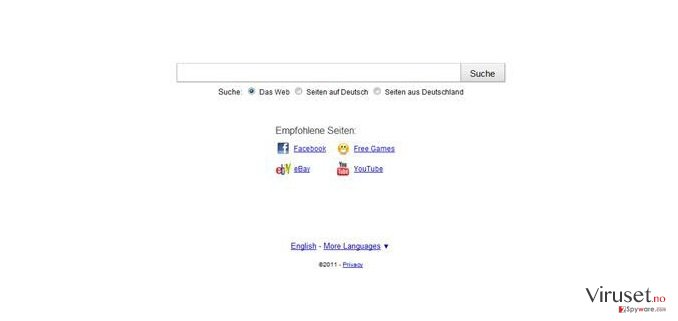 Searchqu skjermbilde