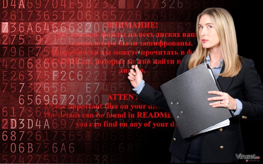 Shade ransomware skjermbilde