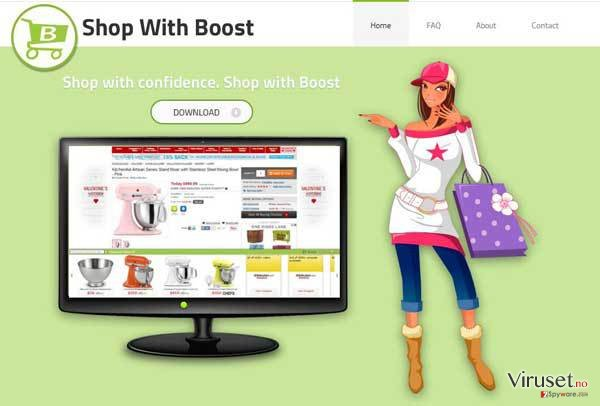 Shop with Boost virus skjermbilde