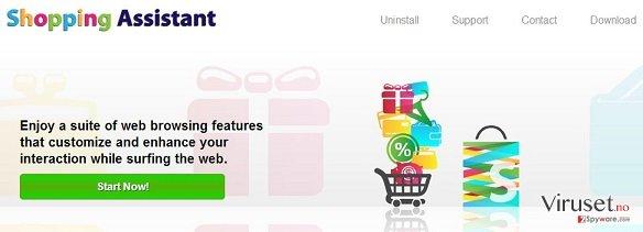 Shopping Assistant annonser skjermbilde