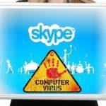 Skype virus skjermbilde