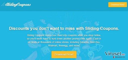 Sliding Coupons-annonser skjermbilde