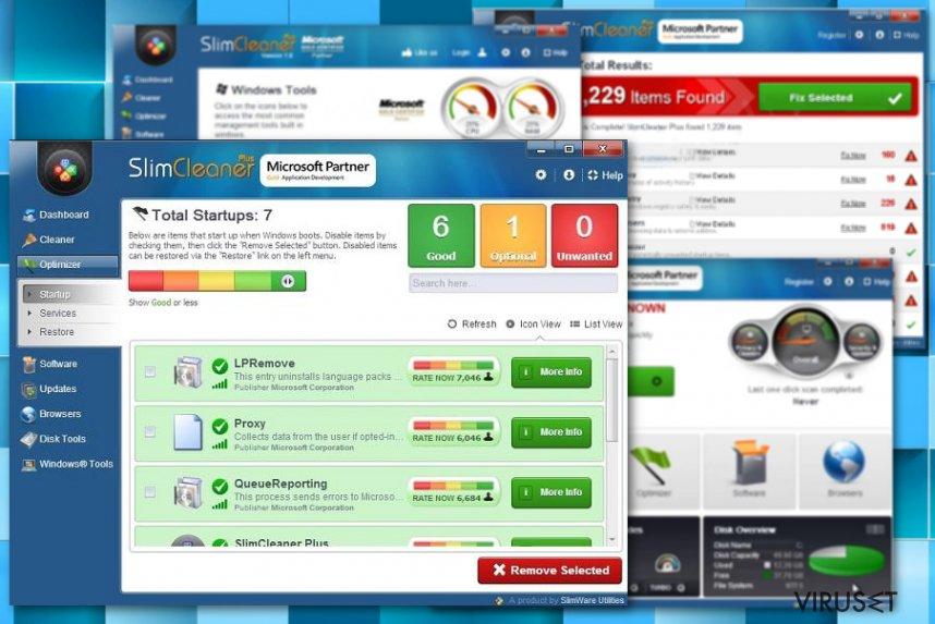 SlimCleaner Plus skjermbilde