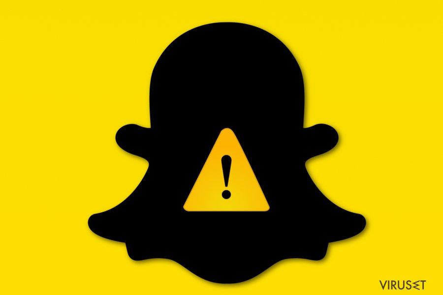 Bilde av Snapchat-virus