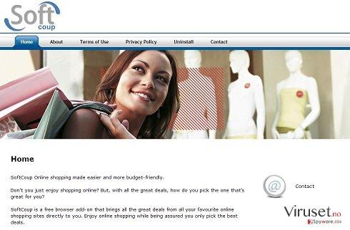 SoftCoup-annonser skjermbilde