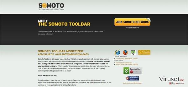 Somoto Toolbar skjermbilde