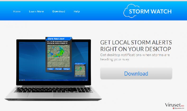 StormWatch annonser skjermbilde