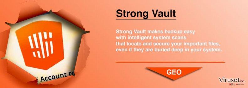 StrongVault Online Backup skjermbilde