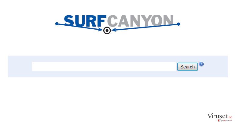Surf Canyon skjermbilde