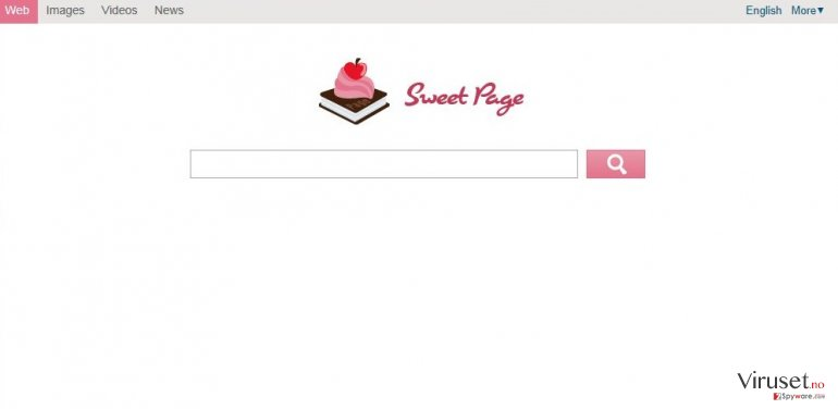Sweet-page.com skjermbilde