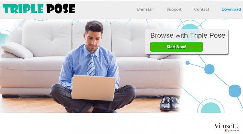 Triple Pose-annonser skjermbilde