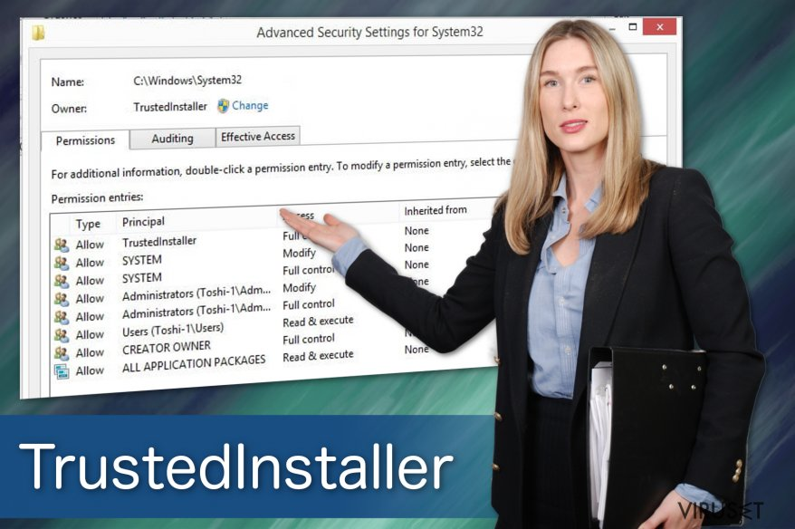TrustedInstaller-virus