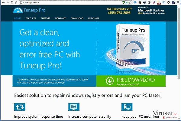 TuneUp Pro skjermbilde
