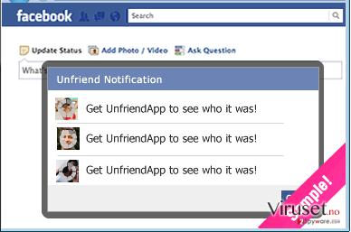 UnfriendTool skjermbilde