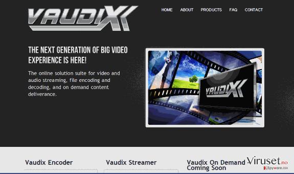 Vaudix-virus skjermbilde