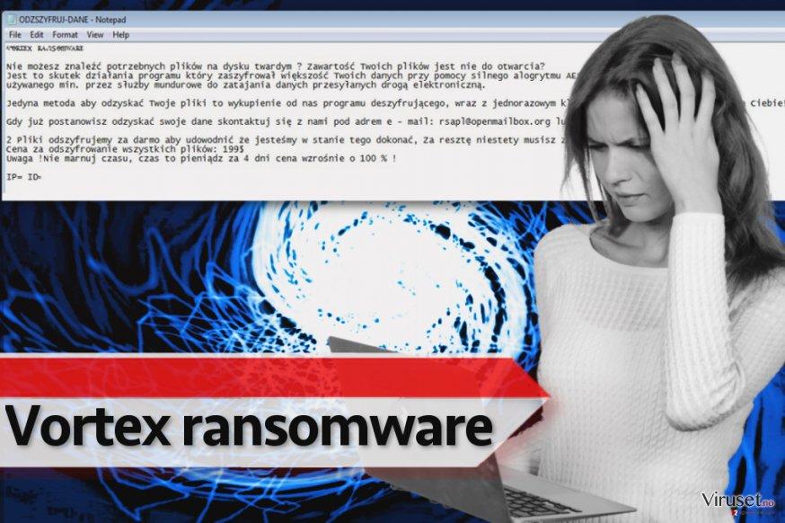 Vortex ransomware