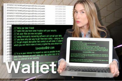Wallet ransomware bilde