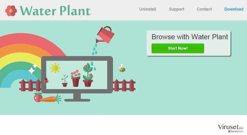 Annonser fra Water Plant skjermbilde