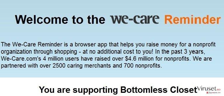 We-care Reminder skjermbilde